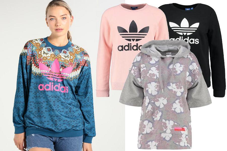 Bluzy Adidas / kolaż redakcja, materiały partnerów