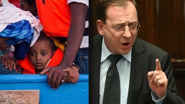 Kamiński w 2002 r. grzmiał z mównicy sejmowej o uchodźcach