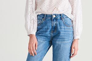 spodnie jeansowe damskie