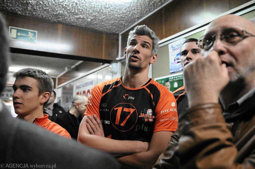 Mecz Indykpol AZS Olsztyn - Jastrzębski Węgiel 0:3 w hali Urania
