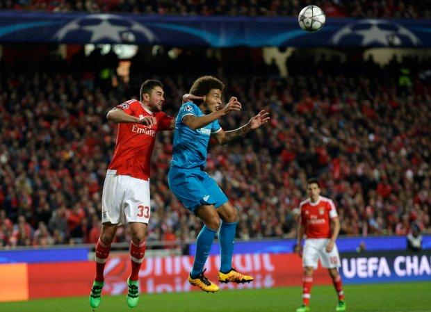 Liga mistrzów. Benfica bliżej ćwierćfinałów. Portugalczycy pokonali mistrzów Rosji po golu w doliczonym czasie gry