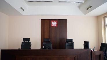Sala sądowa - zdjęcie ilustracyjne