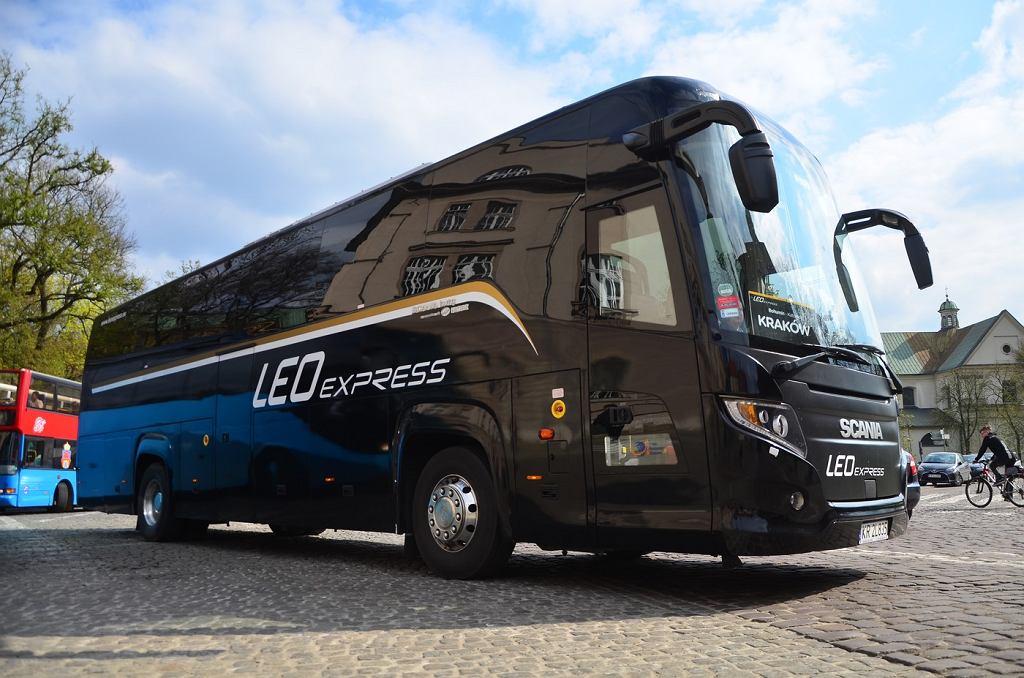 Autobus LEO Express