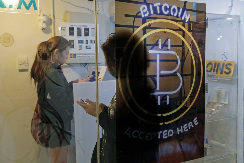 Bitcoinowy bankomat w Hongkongu