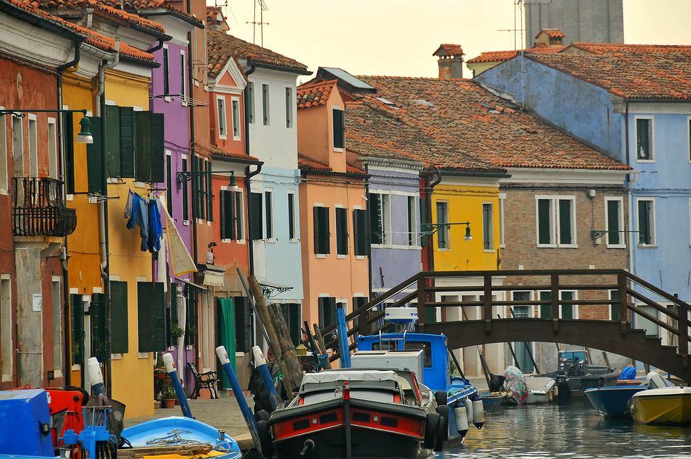 Burano Wenecja Włochy