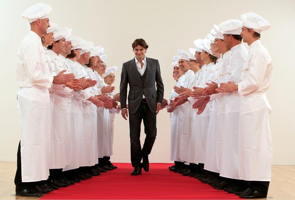 Zdjęcie numer 3 w galerii - Roger Federer w promocji Lindt!