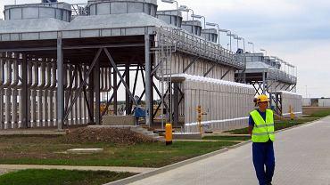 Płock, tłocznia gazu Jamał-Europa Zachodnia