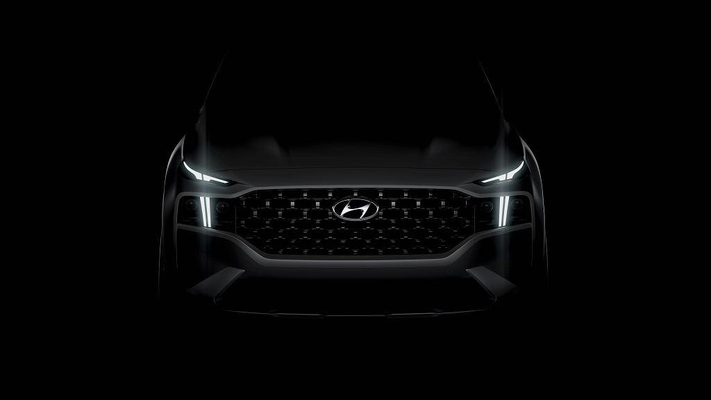 Hyundai Santa Fe facelifting 2020 teaser
