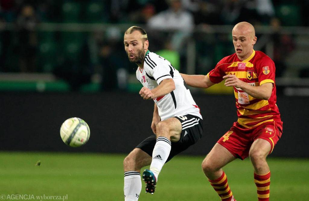 Przegrana Legii z Jagiellonią to pierwsza porażka w tym sezonie ligowym