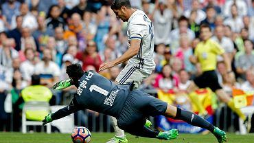 Alvaro Morata podczas meczu Realu Madryt z Sevillą