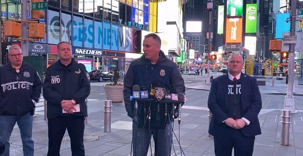 USA. Policja wydała oświadczenie ws. strzelaniny na Times Square
