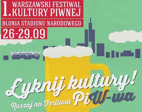 I Warszawski Festiwal Kultury Piwnej / mat. prasowe