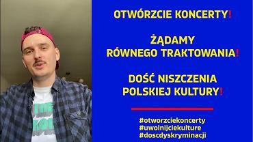 Dawid Podsiadło i inni apelują o przywrócenie możliwości grania koncertów