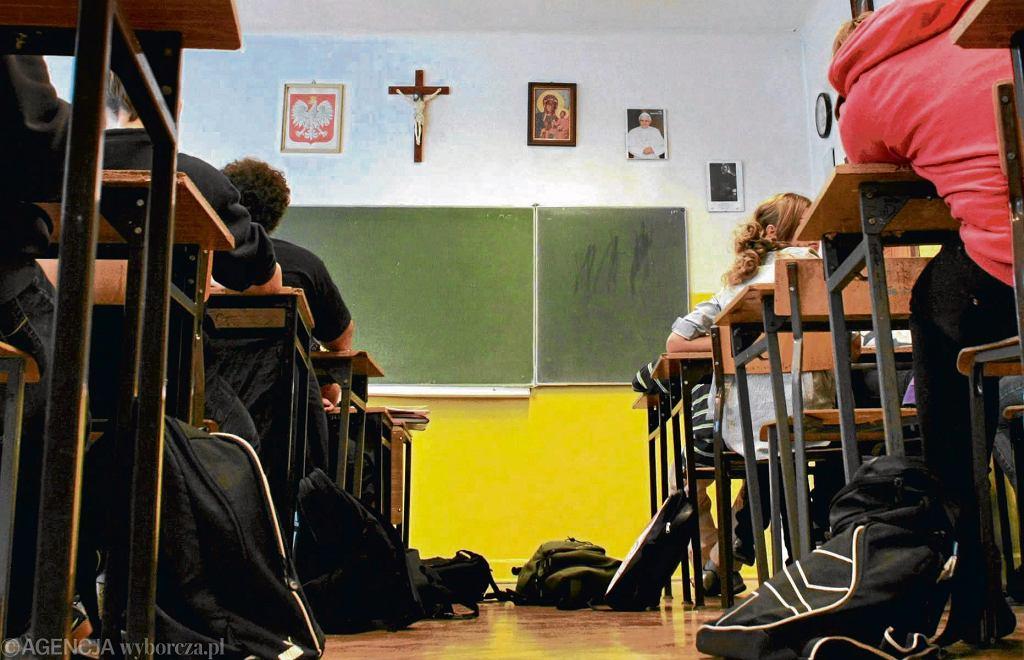 Lekcja w szkole