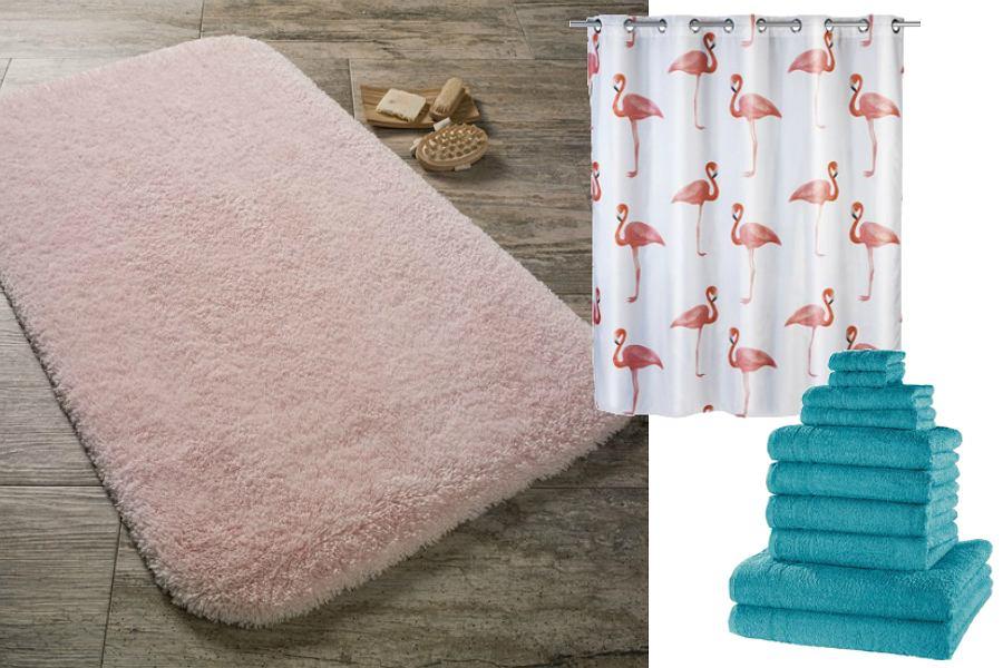 Pomysłowe tekstylia do łazienki