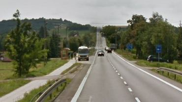 Do wypadku doszło w miejscowości Rogi przy drodze krajowej nr 19