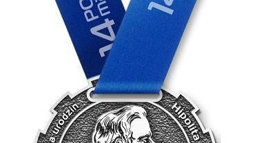 Awers medalu na 14.Poznań Maraton