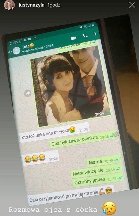 Piotr Żyła rozmowa z córką