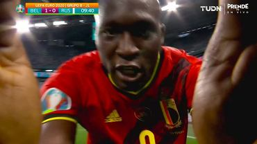 Romelu Lukaku strzela pierwszego gola dla Belgii. 'Chris, kocham Cię!'