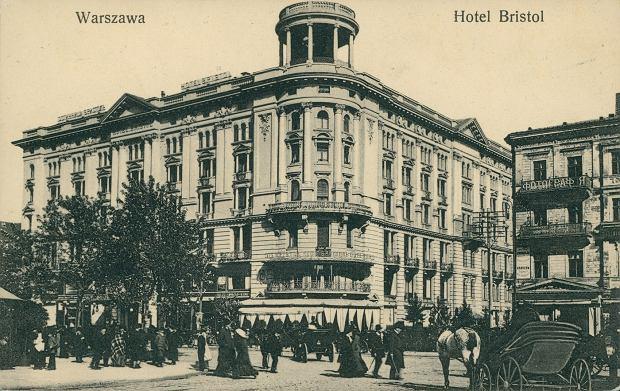 Hotel Bristol, lata 1905-1915