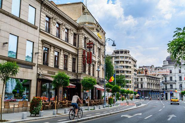 Bukareszt - ulica Zwycięstwa (Calea Victoriei)