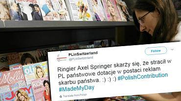Wpis polskiej ambasady