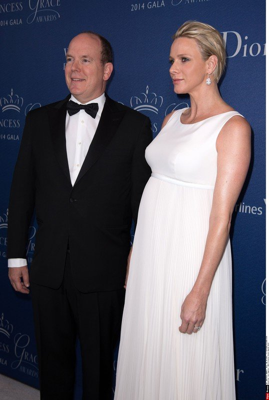 Princess Charlene of Monaco and Prince Albert II of Monaco attend the 2014 Princess Grace Awards Gala at Regent Beverly Wilshire Hotel in Los Angeles, USA-08/10/14. /NIVIERE_019NIV
