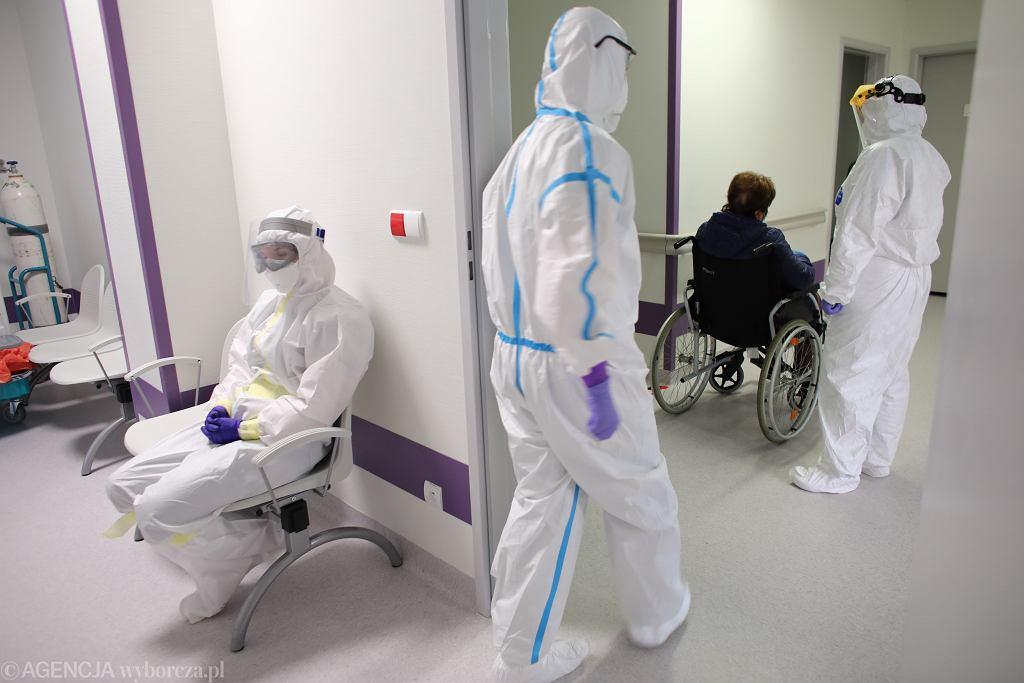 Oddzial zakaźny w szpitalu Uniwersyteckim UJ w Krakowie