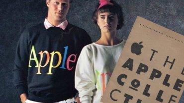 W 1986 r. marka Apple wypuściła kolekcje odzieży dedykowaną aktywnym yuppies. Pomysł się nie przyjął, a firma skupiła się na tym, co wychodziło lepiej - technologii.