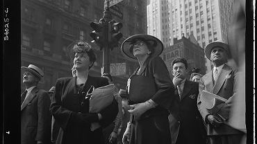 Nowy Jork, Times Square, 6 czerwca 1944 r.