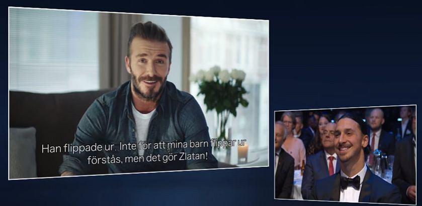 David Beckham i Zlatan Ibrahimović
