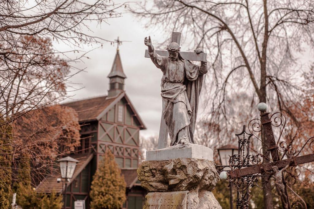 Kościół św. Wincentego na Cmentarzu Bródnowskim.
