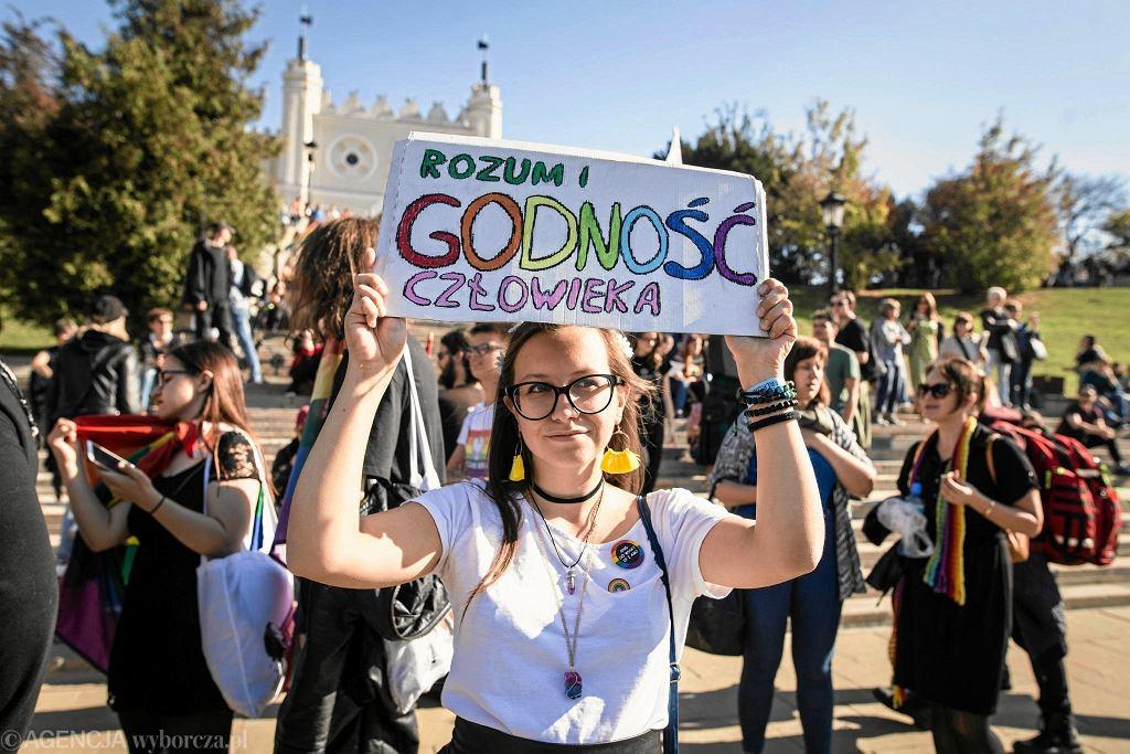 Lublin. Marsz Równości