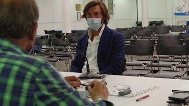 Andrea Pirlo zdaje egzamin na trenera