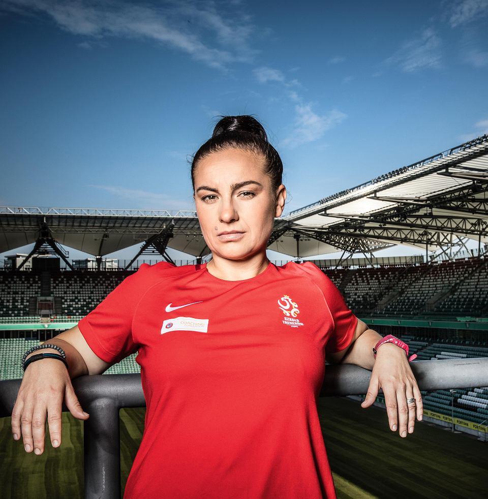 Nina Patalon, trenerka piłki nożnej