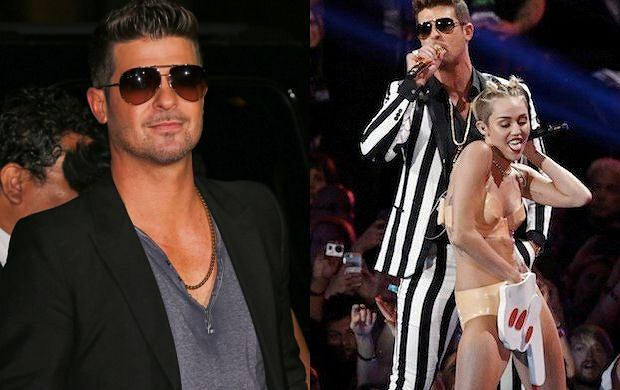 Robin Thicke i Miley Cyrus