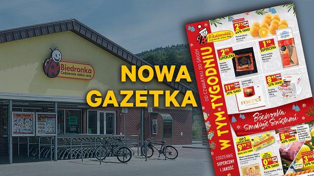 Gazetka Biedronka, od czwartku 6.12.2018 - w tym tygodniu ponad 60 stron promocyjnych ofert od Biedronki