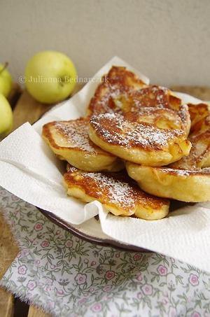 Racuszki z jabłkami