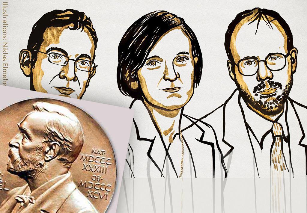 Nagroda Nobla w dziedzinie ekonomii przyznana. Otrzymują ją Abhijit Banerjee, Esther Duflo i Michael Kreme