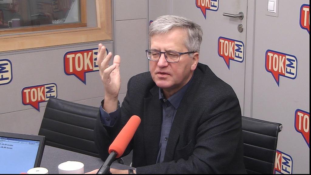 Bronisław Komorowski w TOK FM.