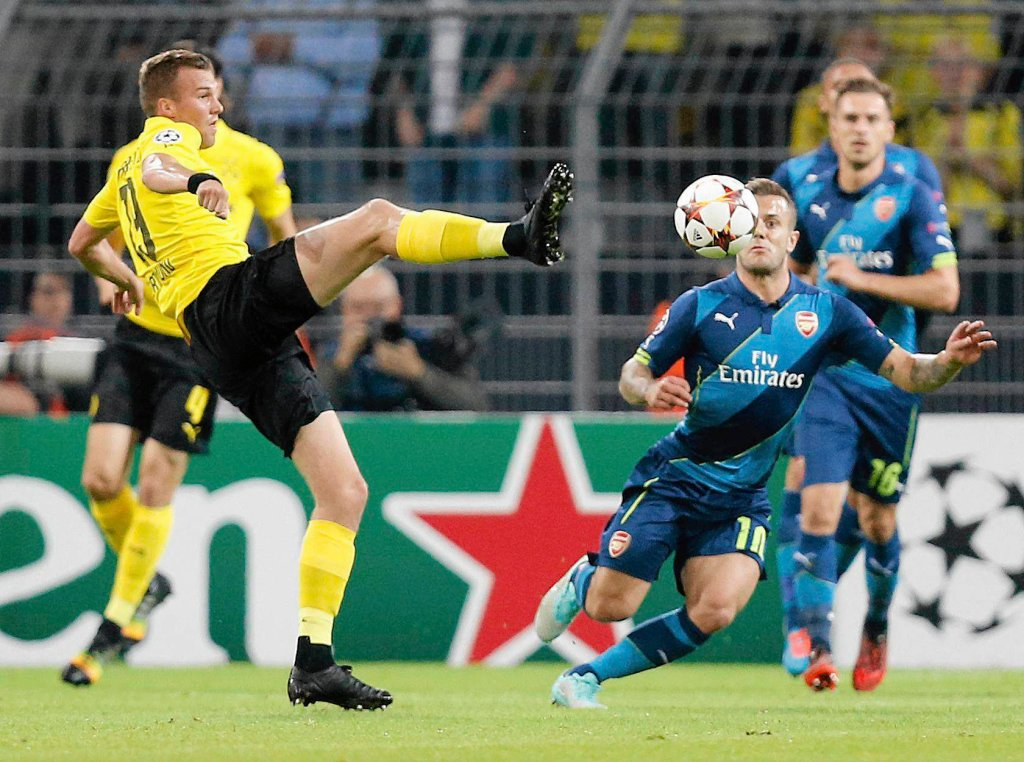 Liga Mistrzów. Borussia - Arsenal 2:0