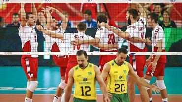 Mistrzostwa świata siatkarzy 2014. Polska - Brazylia 3:2