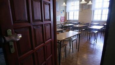 Koronawirus w szkole. Fot. ilustracyjna