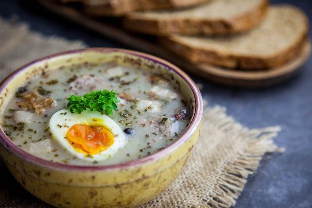Żurek śląski, czyli tradycyjna, sycąca zupa na obiad