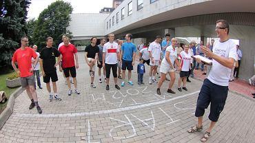 Grzegorz Teleśnicki z ambasady RP w Moskwie jest animatorem biegania. Organizuje bieg w Moskwie w ramach Polska Biega