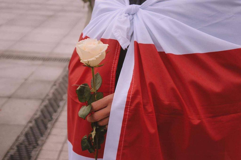 Protest przeciwko represjom białoruskiego reżimu