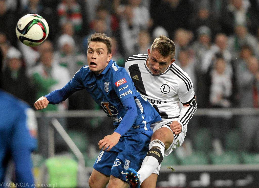 Legia Warszawa - Lech Poznań 0:1. Maciej Gajos