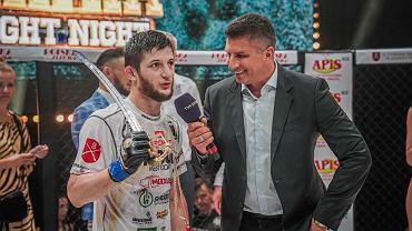 Mansur Azhiev (Mansur Ażyjew) - nowa gwiazda polskiego MMA