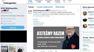 Po ataku na Pawła Adamowicza poznaniacy, którzy chcą okazać solidarność z prezydentem Gdańska, mogą przyjść na spotkanie na placu Wolności organizowane przez KOD Wielkopolska - w poniedziałek o godz. 18