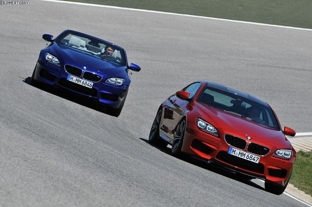 BMW M6 Coupe i Cabrio